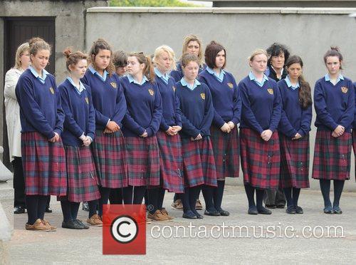 Holy Faith School Clontarf students The funeral of...