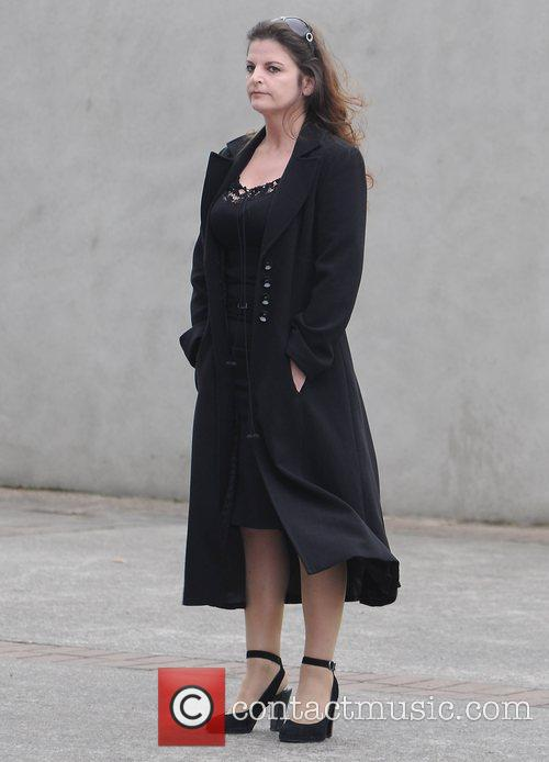 Janice O'Brien The funeral of RTE broadcaster Gerry...