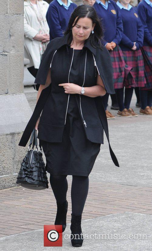 Joanne Byrne The funeral of RTE broadcaster Gerry...