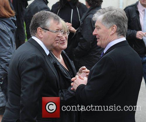 Joe Duffy, Pat Kenny The funeral of RTE...
