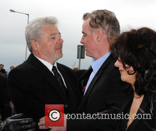 The funeral of RTE broadcaster Gerry Ryan at...