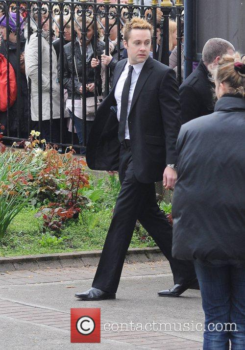 Keith Barry The funeral of RTE broadcaster Gerry...