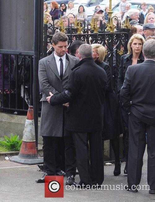 Keith Duffy, Lisa Duffy, Yvonne Keating The funeral...
