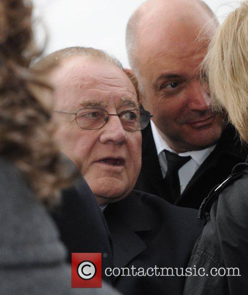 Larry Gogan The funeral of RTE broadcaster Gerry...
