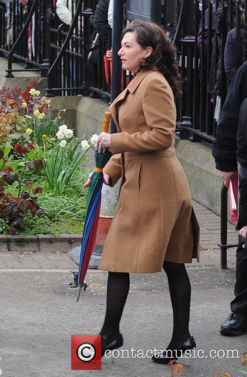 Maura Derrane The funeral of RTE broadcaster Gerry...