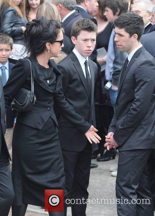 Morah Ryan, Elliot Ryan, Rex Ryan The funeral...