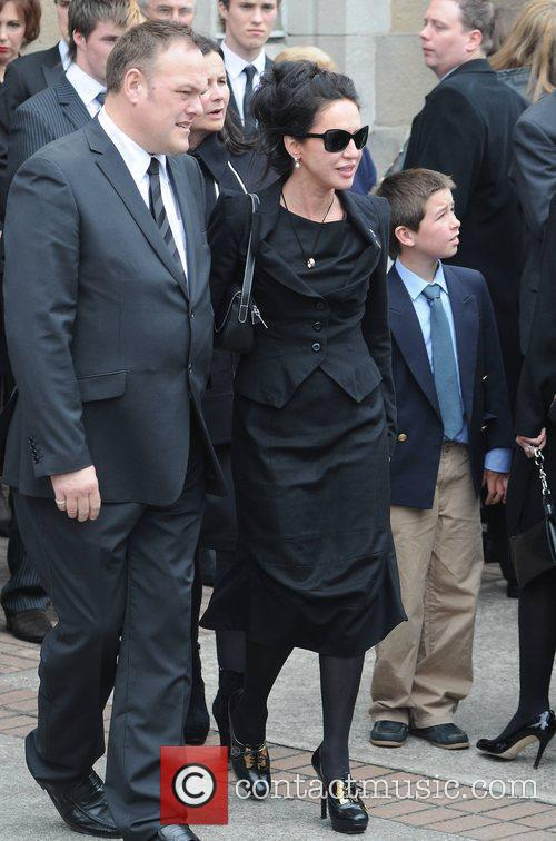 Morah Ryan The funeral of RTE broadcaster Gerry...