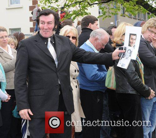Morner The funeral of RTE broadcaster Gerry Ryan...