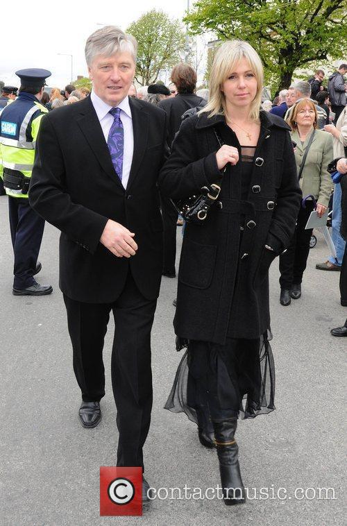 Pat Kenny, Kathy Kenny The funeral of RTE...