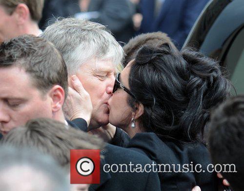 Pat Kenny, Morah Ryan The funeral of RTE...