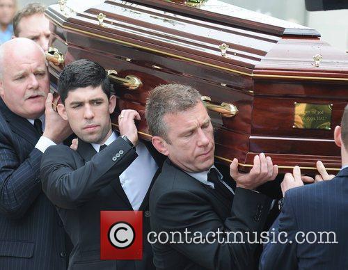 Rex Ryan, Mike Ryan The funeral of RTE...