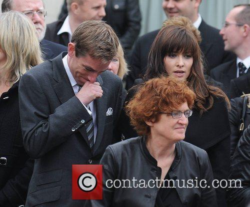 Ryan Tubridy, Aoibhinn Ni Shuilleabhain The funeral of...