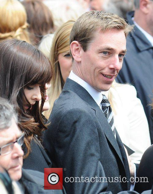 Ryan Tubridy The funeral of RTE broadcaster Gerry...
