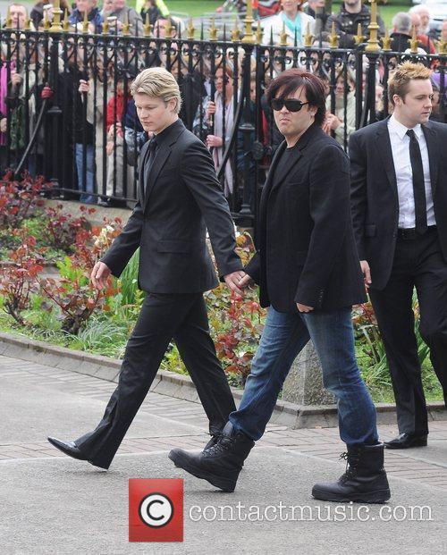 Steven Mannio, Eamon Farrell The funeral of RTE...