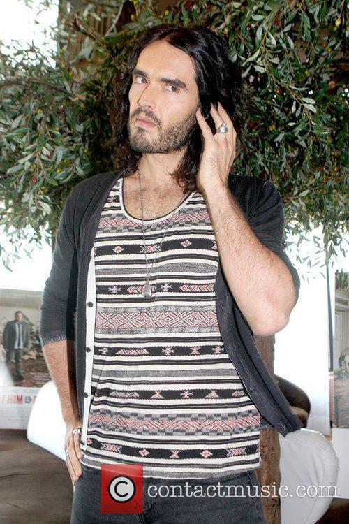 Russell Brand  attends a photocall to promote...