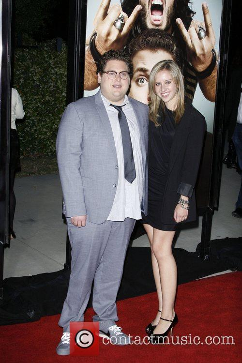Jonah Hill and guest Los Angeles Premiere of...