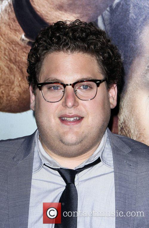 Jonah Hill Los Angeles Premiere of 'Get Him...