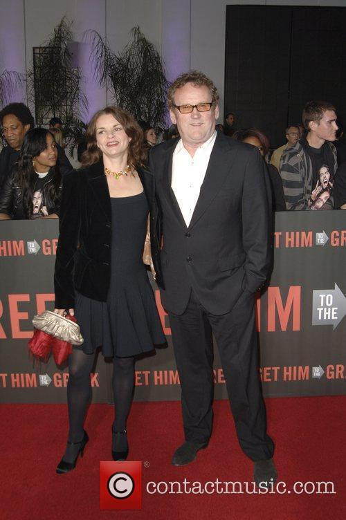 Colm Meaney and wife  Los Angeles Premiere...