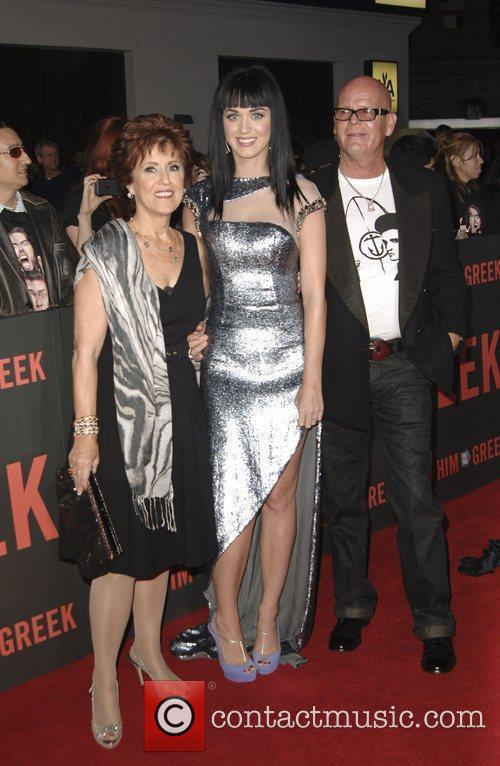 Katy Perry and guest  Los Angeles Premiere...