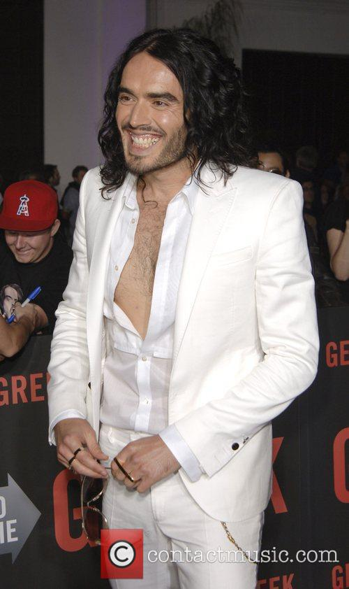 Russell Brand  Los Angeles Premiere of 'Get...