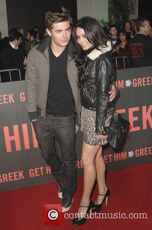 Vanessa Hudgens and Zac Efron  Los Angeles...