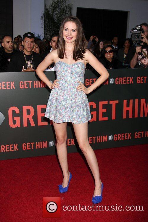 Alison Brie Los Angeles Premiere of 'Get Him...