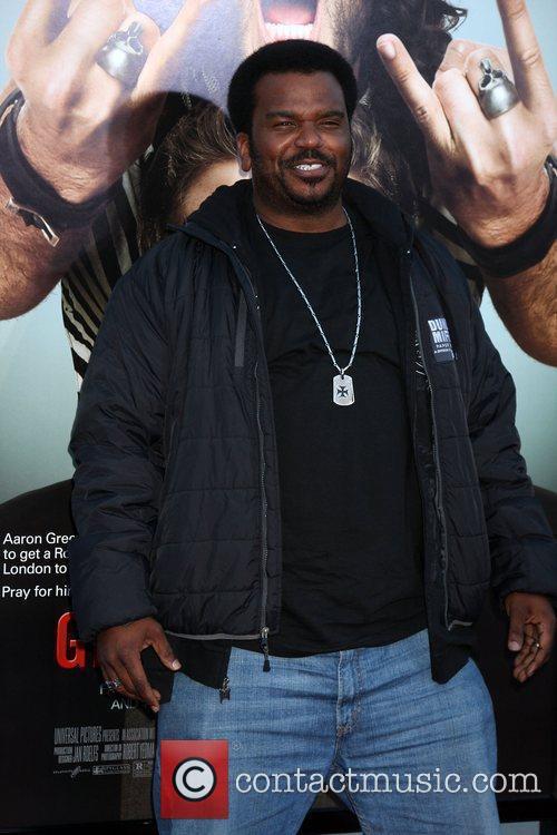 Craig Robinson Los Angeles Premiere of 'Get Him...