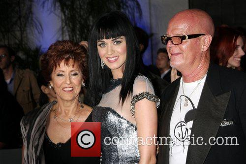 Katy Perry with her parents Keith and Mary...