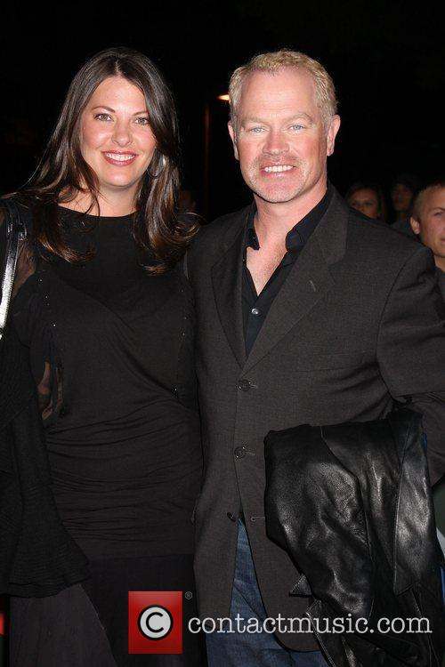 Neal McDonough and Ruve Robertson Los Angeles Premiere...