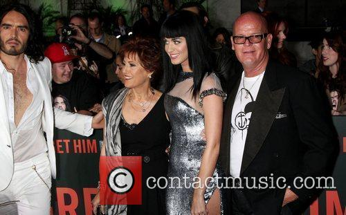 Russell Brand and Katy Perry with her parents...