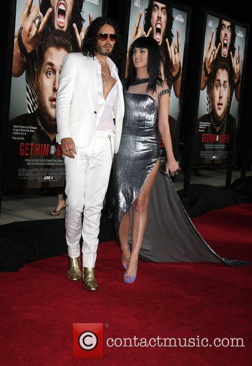 Russell Brand and Katy Perry Los Angeles Premiere...