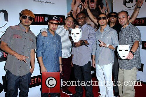 Jabbawockeez Las Vegas screening of 'Get Him To...