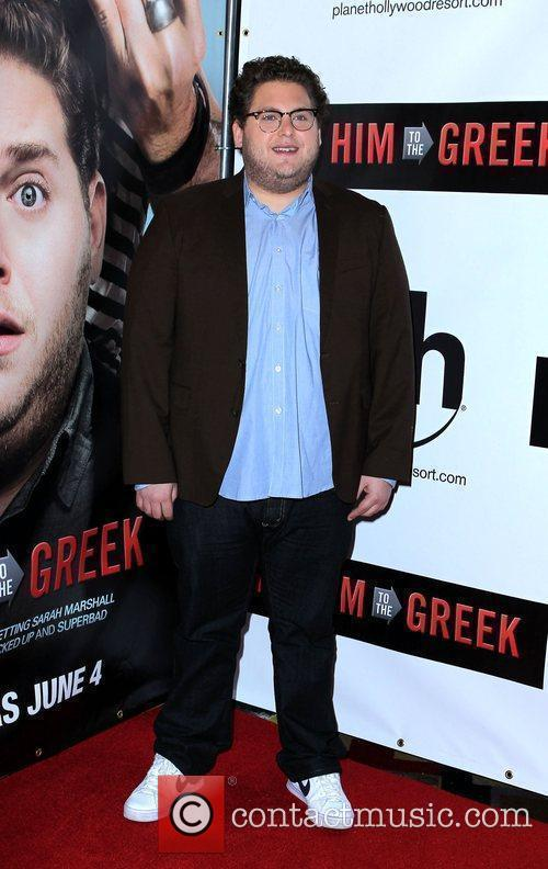 Jonah Hill Las Vegas screening of 'Get Him...