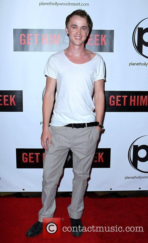 Tom Felton Las Vegas screening of 'Get Him...