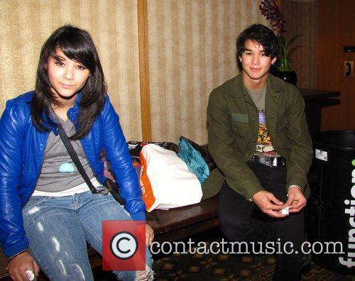 Fival Stewart and Boo Boo Stewart  at...