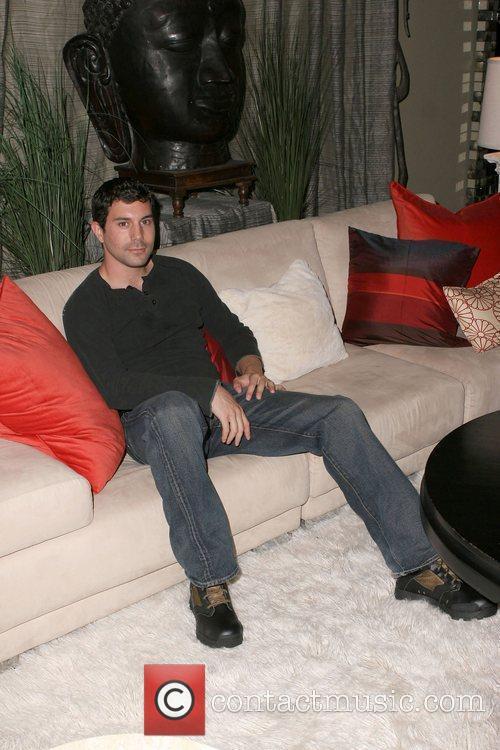 Micah Sloat visits Gifting Services held at the...
