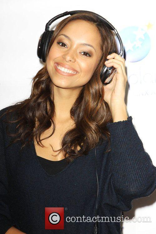 Amber Stevens visits the Gifting Suite Services showroom...