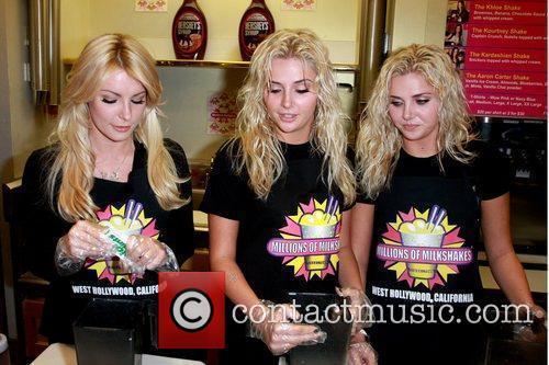 Kristina Shannon, Karissa Shannon and Crystal Harris of...