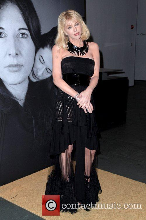 Courtney Love Givenchy celebrates the closing of Marina...