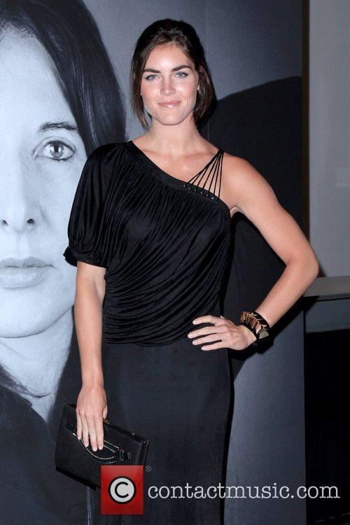 Hilary Rhoda Givenchy celebrates the closing of Marina...