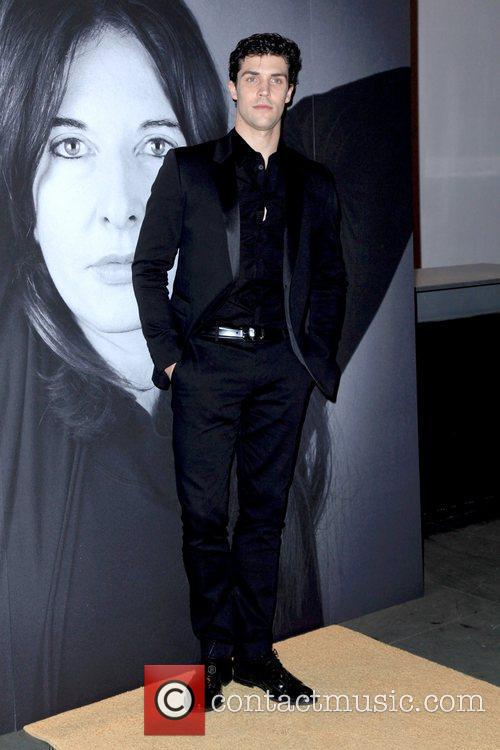 Roberto Bolle Givenchy celebrates the closing of Marina...