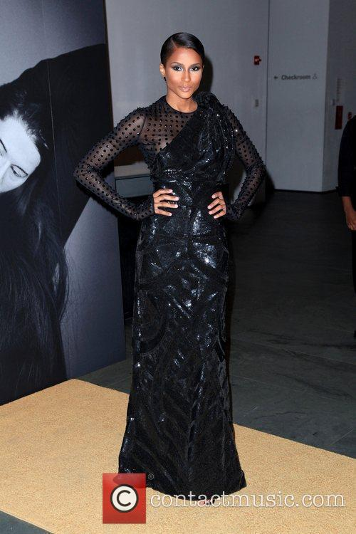 Ciara Givenchy celebrates the closing of Marina Abramovic's...