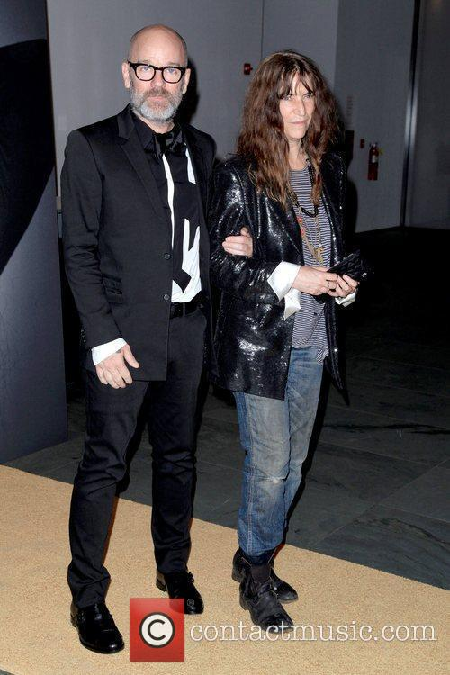 Michael Stipe and Patti Smith Givenchy celebrates the...