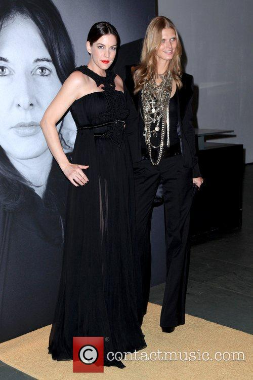 Liv Tyler and Maglosia Bela  Givenchy celebrates...