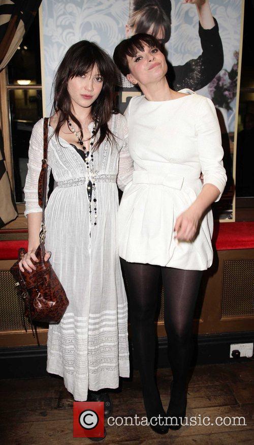 Daisy Lowe, Gizzi Erskine  Celebrities attend Gizzi...