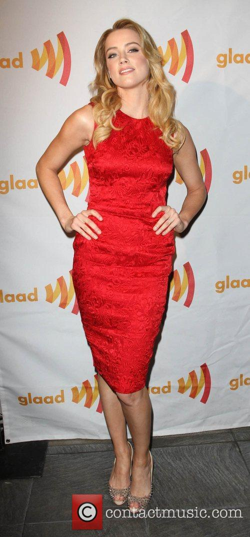 Amber Heard GLAAD Celebrates 25 Years of LGBT...