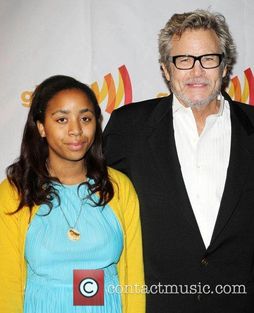 Michael Kearns and his Daughter GLAAD Celebrates 25...