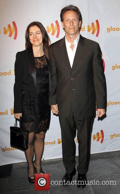 Steven Weber with wife Juliette Hohnen GLAAD Celebrates...