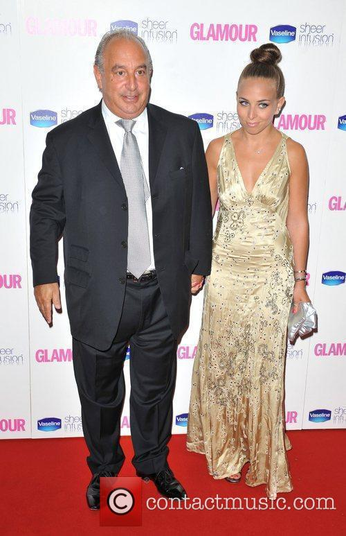 Sir Philip Green and Guest Glamour Women Of...