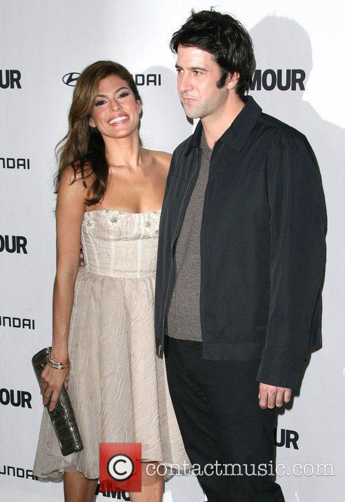 Eva Mendes and Troy Garity 5th Anniversary of...